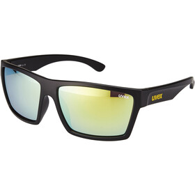 UVEX LGL 29 Bril, black mat/yellow